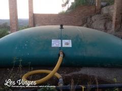 <h5>Dipòsit 40,000 litres</h5><p>Dipòsit on emmagatzemem l&#039;aigua de la pluja.</p>