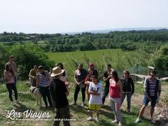 <h5>Visita de joves del Berguedà</h5><p>Visita de joves del Berguedà a Les Vinyes.</p>