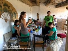 <h5>Primer dinar</h5><p>Primer dinar a Les Vinyes</p>