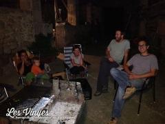 <h5>Primera barbacoa</h5><p>Barbacoa al pati interior de Les Vinyes</p>