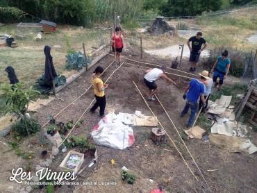 Fotografies del curs de permacultura de maig
