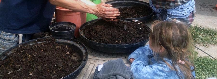 Aprenderemos técnicas de creación de humus de lombriz